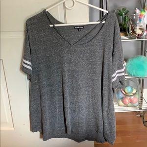 a cute gray shirt